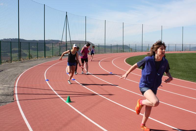 Complexe Euro-méditerranéen - piste et course d'athlétisme en MONDO