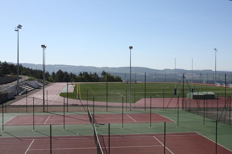Complexe Euro-méditerranéen - piste d'athlétisme en MONDO Lozère