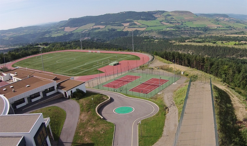 Complexe Euro-méditerranéen - centre sportif handisport en Lozère