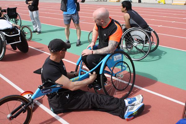 Complexe Euro-méditerranéen - athlétisme handisport en Lozère